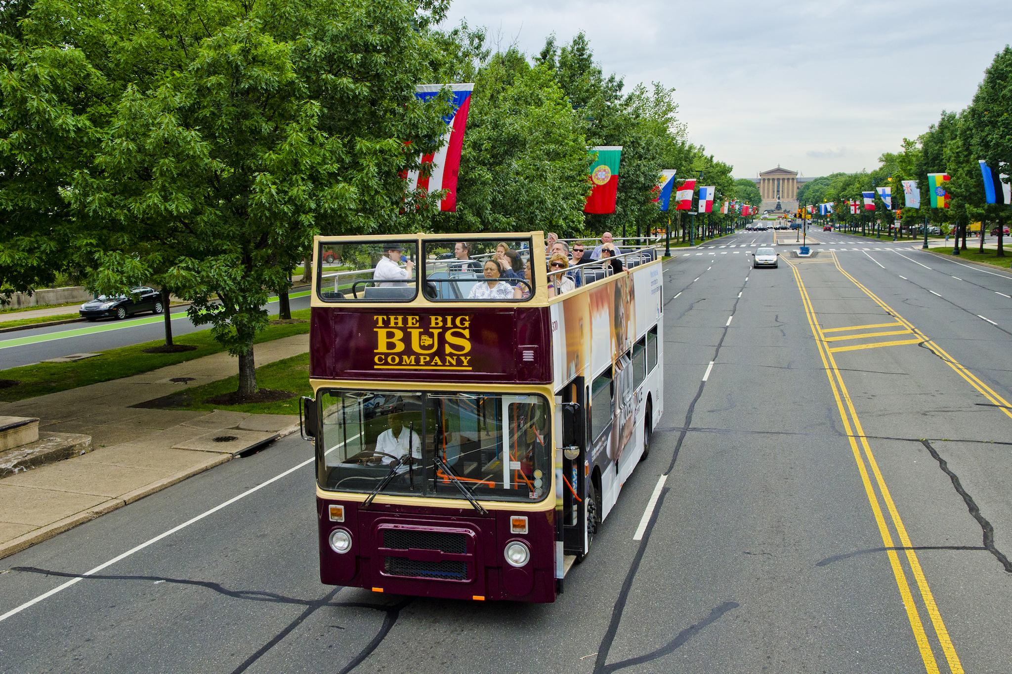 philadelphia bus tours