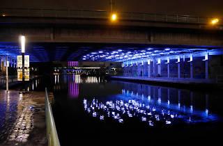Une œuvre d'art fait le pont entre Paris et Pantin