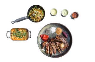 Rib Beef & Wine - Cowboy Steak