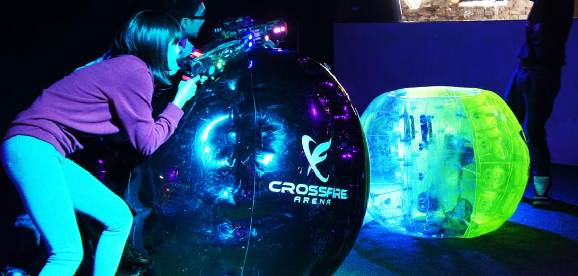 Crossfire Arena lasertag