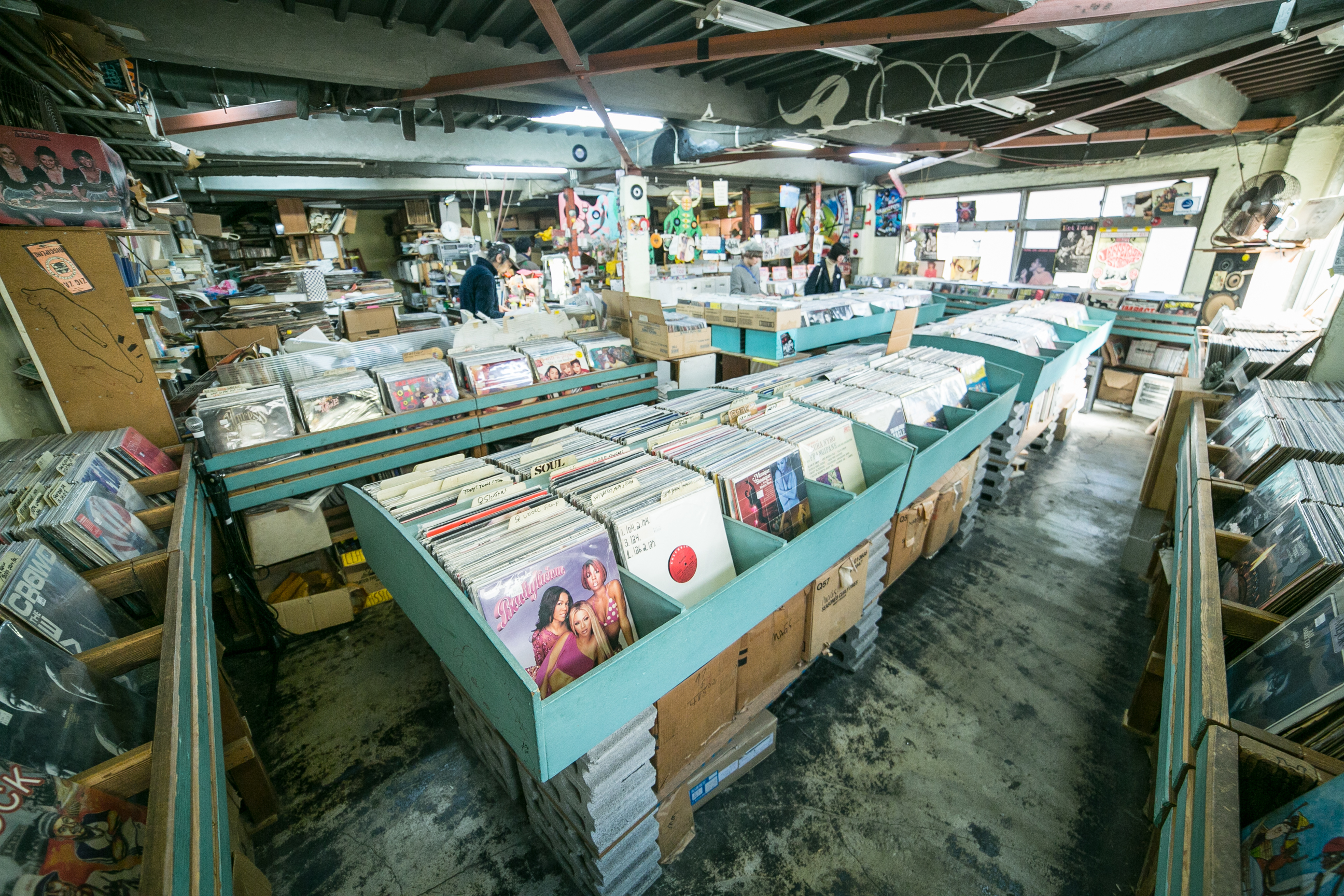 Record and music stores