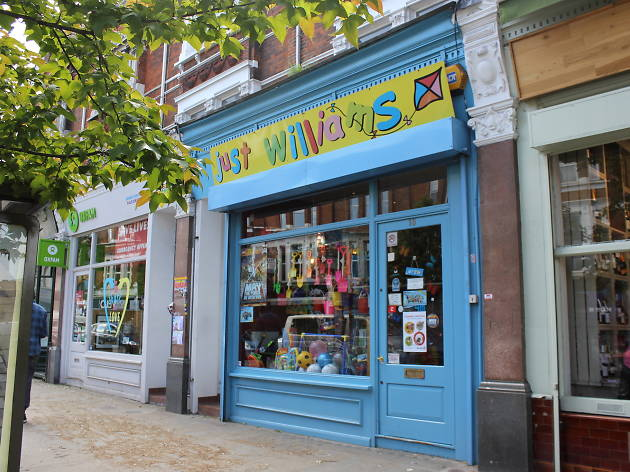 Just Williams Toy shop