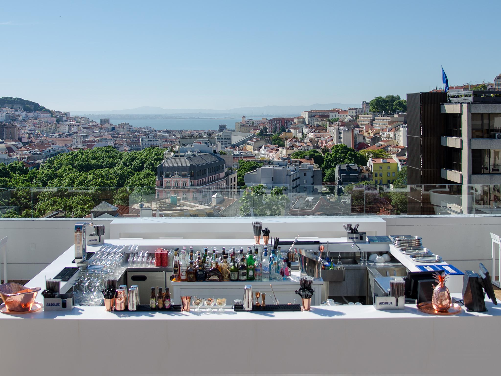 Os melhores hotéis para beber um copo e lavar a vista