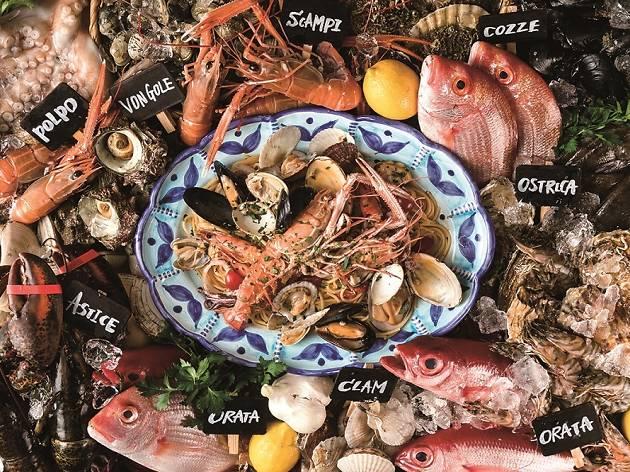 魚イタリアンと薪ピザ チロンボ マリーナ
