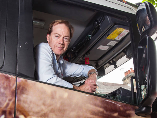 Paul Neal, london lorry driver