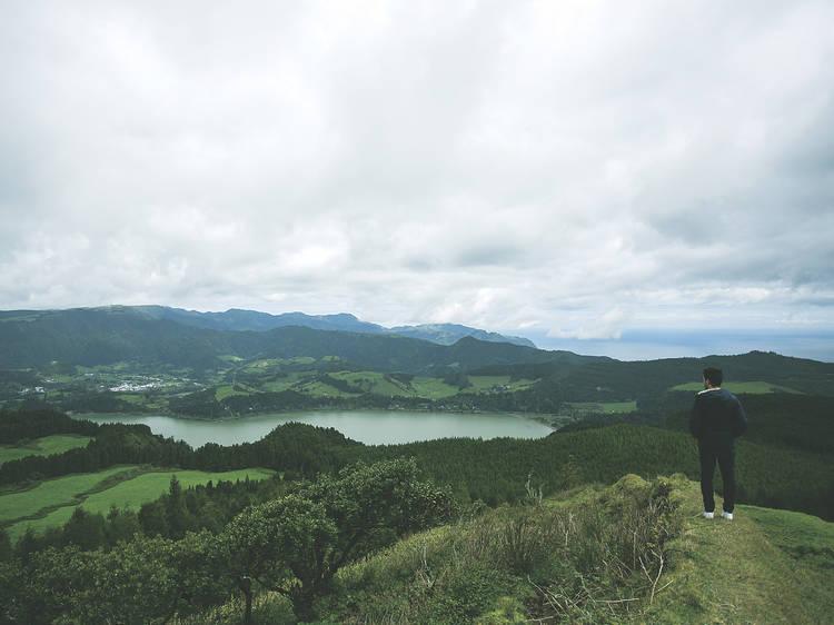 Enjoy the view at Miradouro do Escalvado