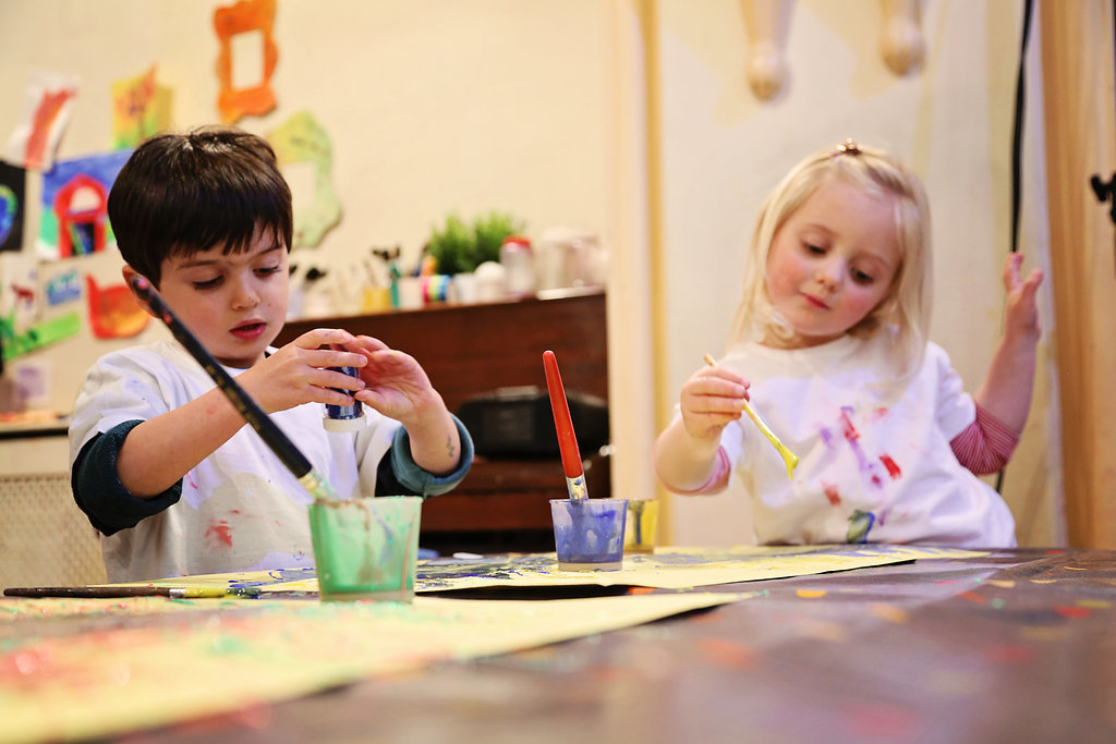 Art Barn, children's art classes