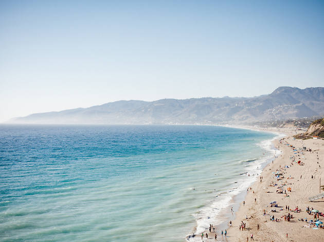 Zuma Beach and Point Dume