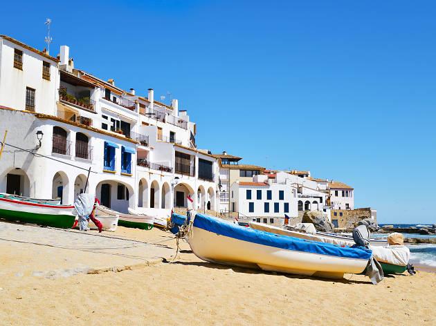 Platja del Port Bo Calella de Palafrugell