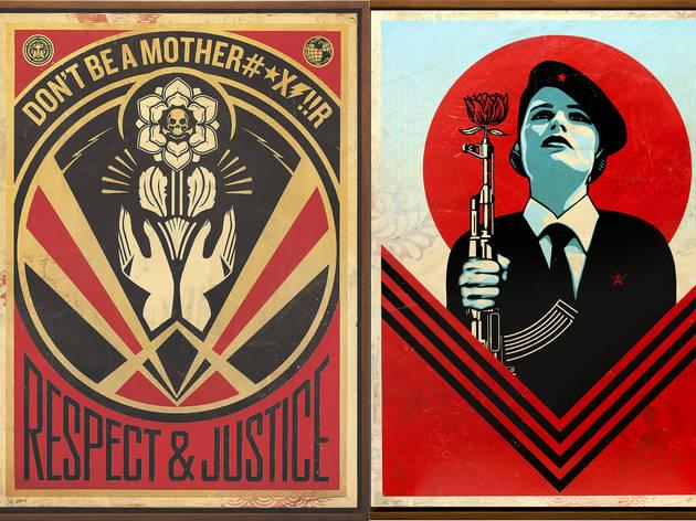 Shepard Fairey, Printed Matters