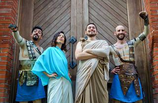 Los gladiadores de Luduc