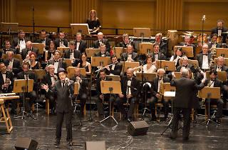 Santiago Auserón y la Banda Sinfónica Municipal de Madrid