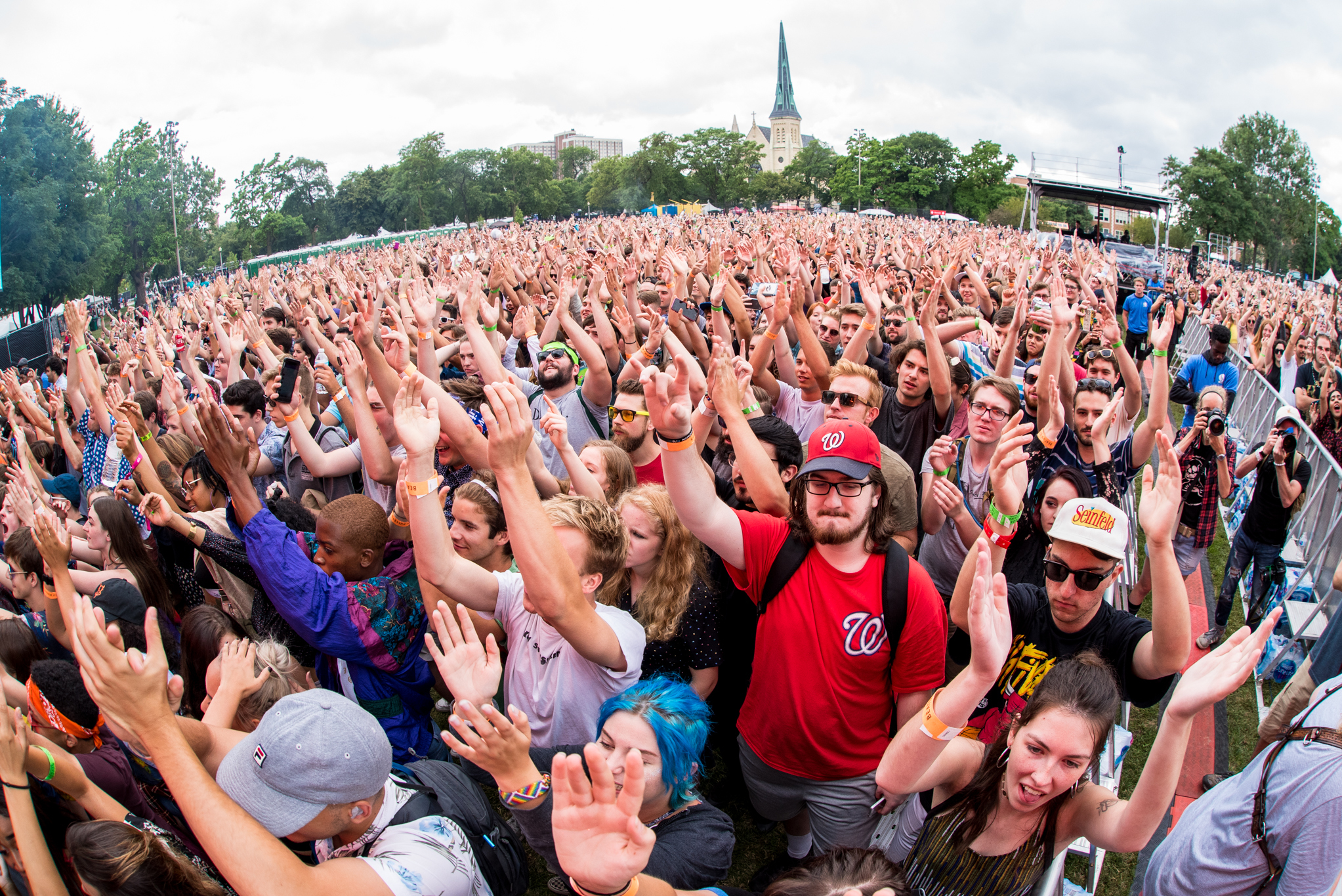 How to get a COVID-19 test just outside of Pitchfork Music Festival