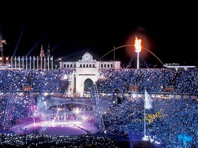 25th anniversary celebration of the Barcelona Olympic Games