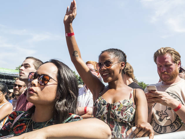 Photos from Pitchfork Music Festival 2017, Saturday