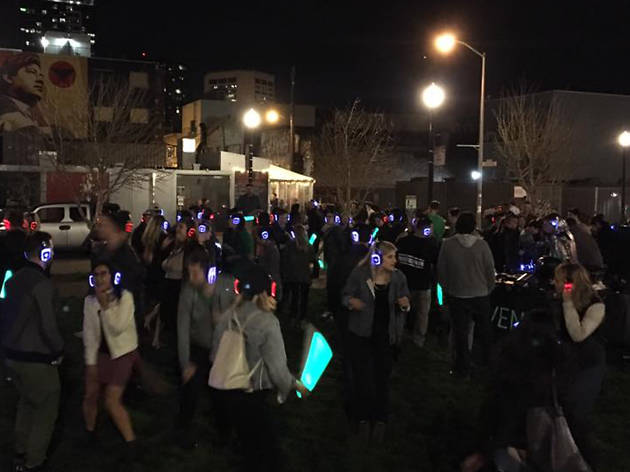 Hayes Valley Silent Disco