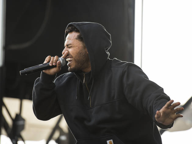 BJ the Chicago Kid and Joey Purp are playing a free Fulton Market show on Friday