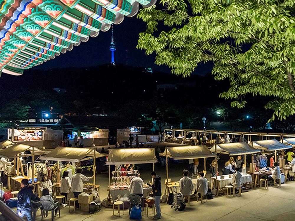 1890 Namsangol Night Market