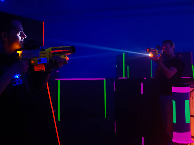Where To Play Laser Tag Paintball And War Games In Hong Kong