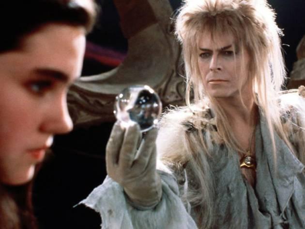 David Bowie en Dentro del laberinto