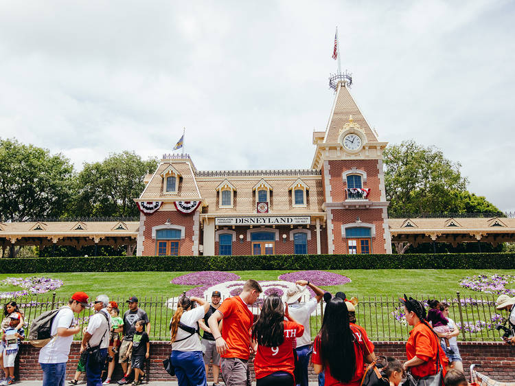 Get animated with Mickey and Minnie at Disneyland