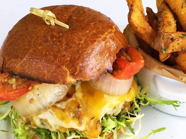 The Burger at The Larchmont