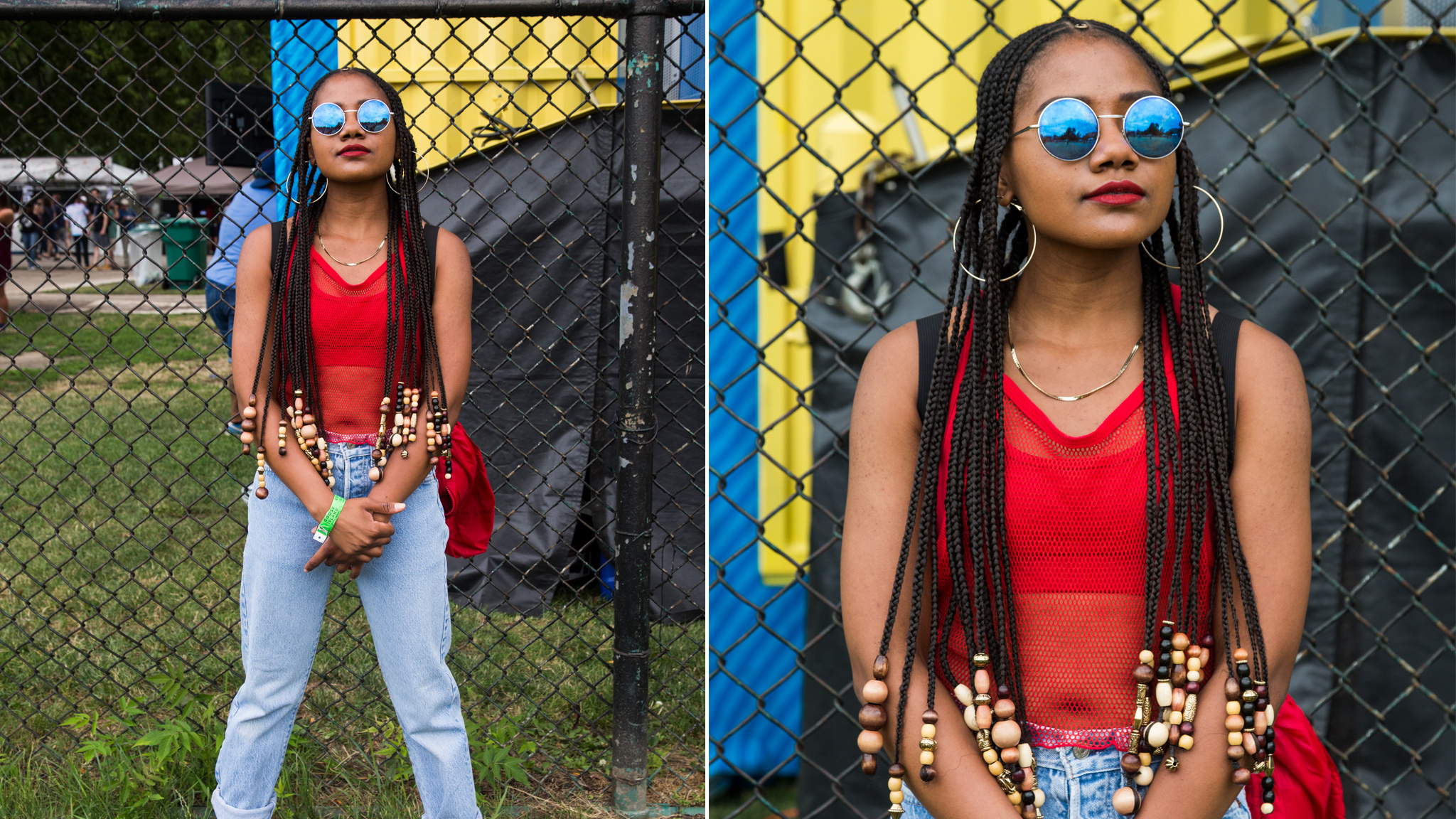 The best fashion at Pitchfork Music Festival 2017