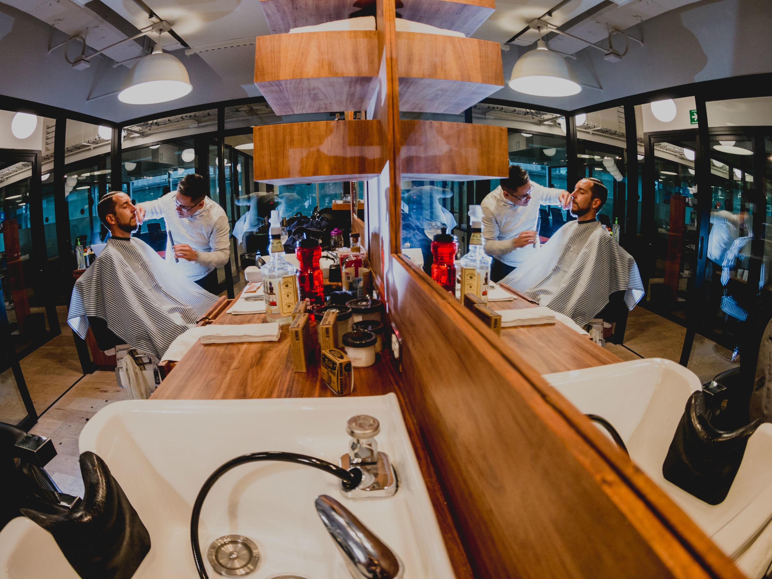 Barbería Capital WeWork