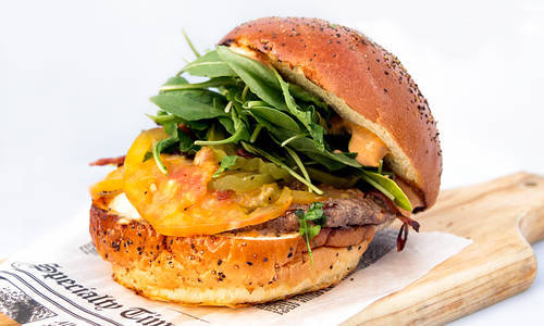 Big Burger at Lock & Key