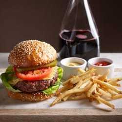 Le Burger Bouchon at Bouchon Bistro