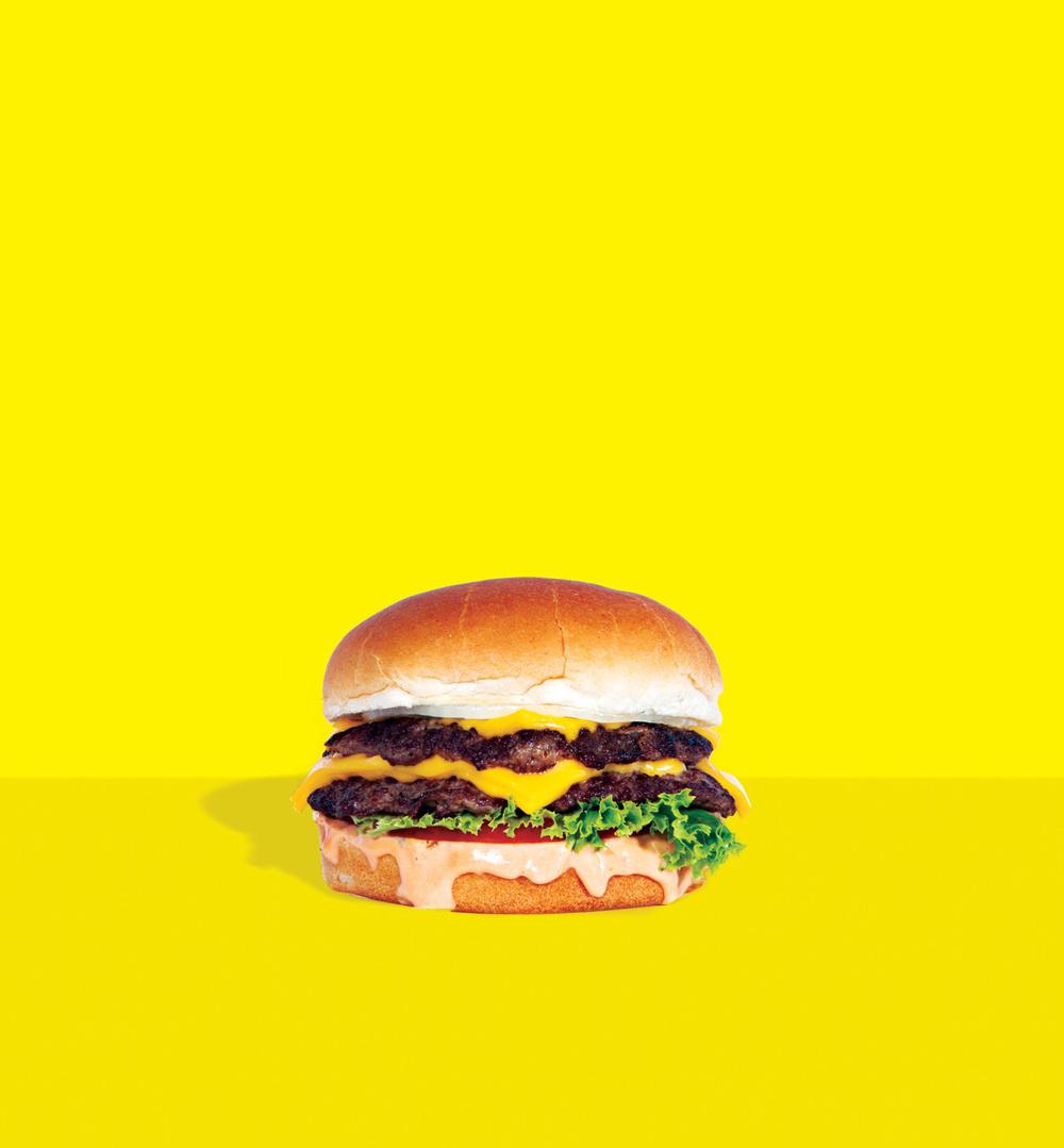 Double Cheeseburger at Burgerlords