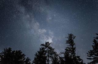 Generic night sky with stars