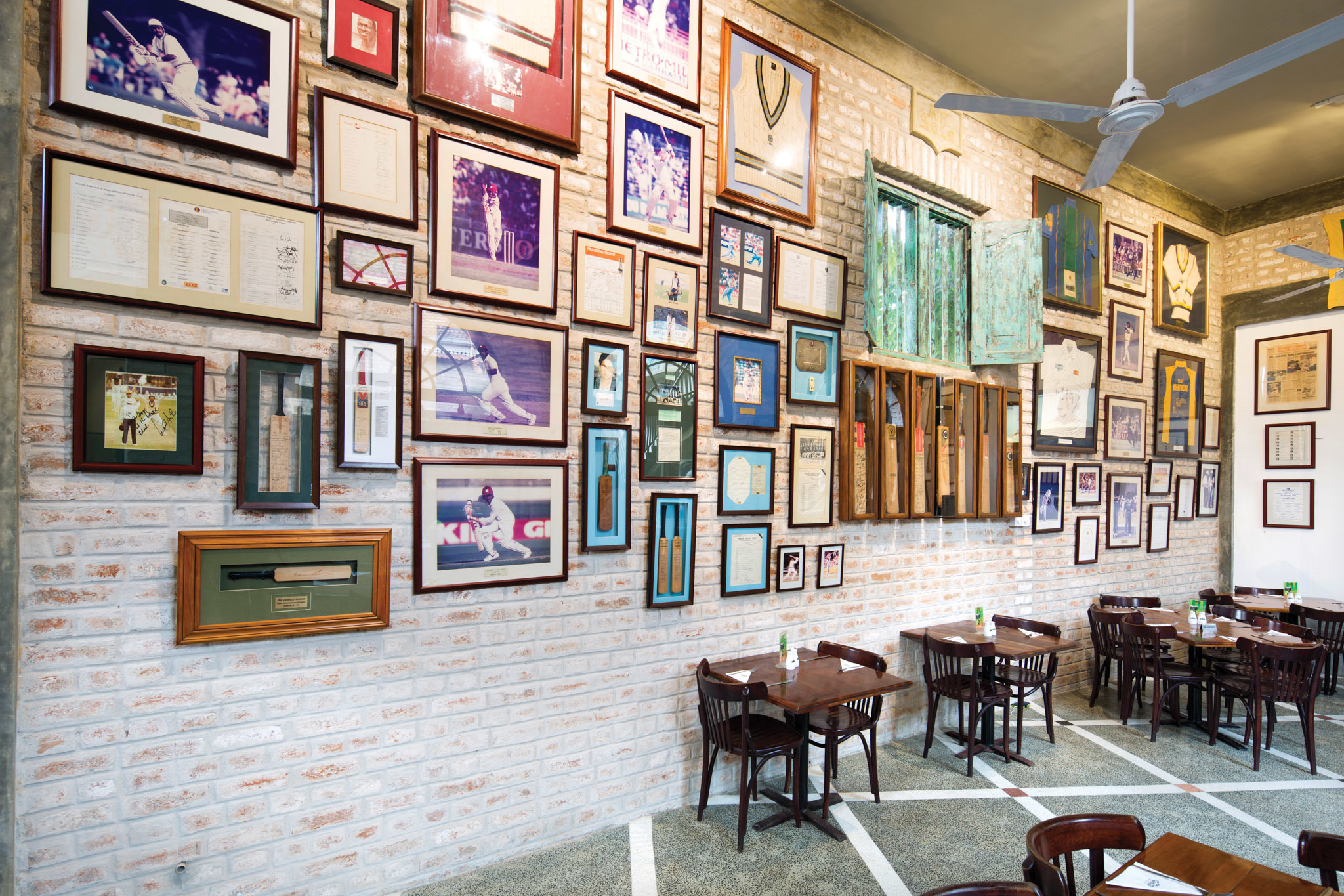 Cricket club cafe