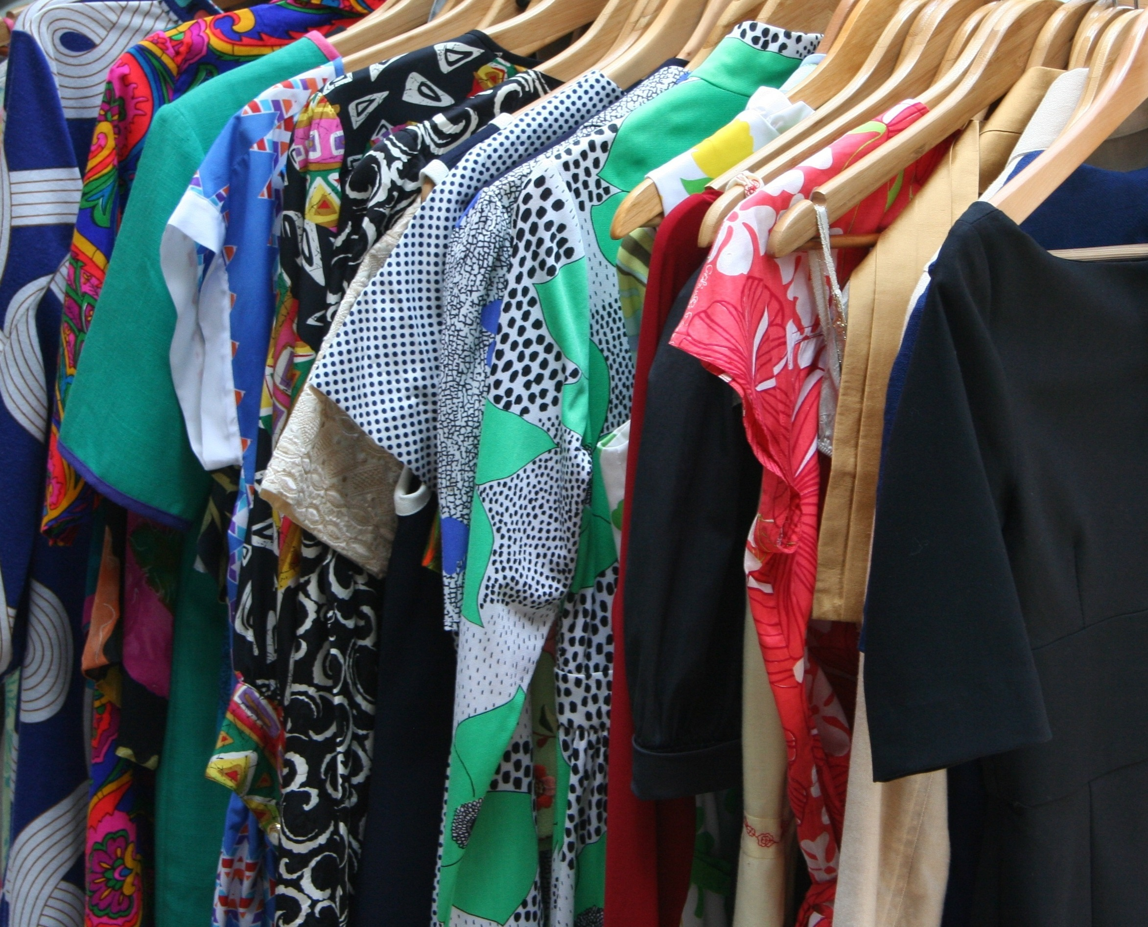 Generic clothes on rack