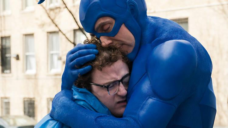 Fotograma de la serie The Tick
