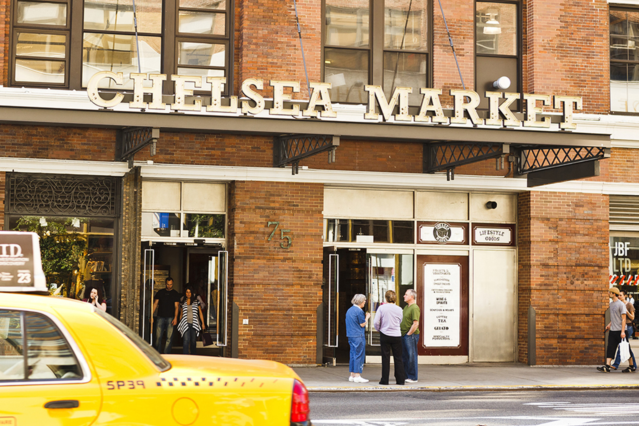 The best places to go in Chelsea Market, NYC