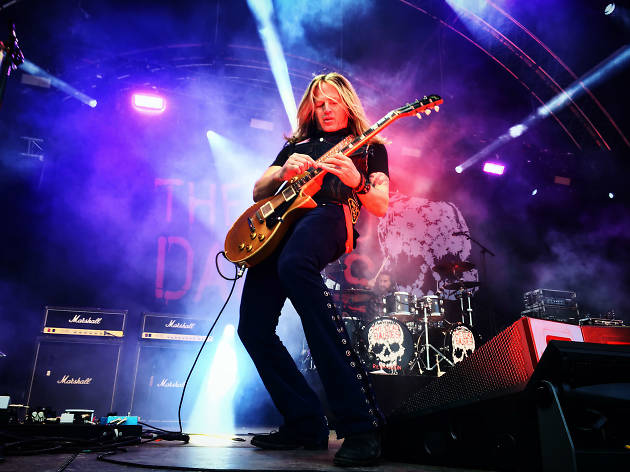 Doug Aldrich de The Dead Daisies