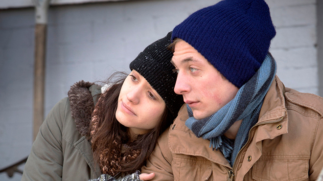 Fiona and Lip Gallagher from 'Shameless'