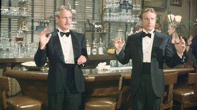 Henry Gondorff and Johnny Hooker from 'The Sting'