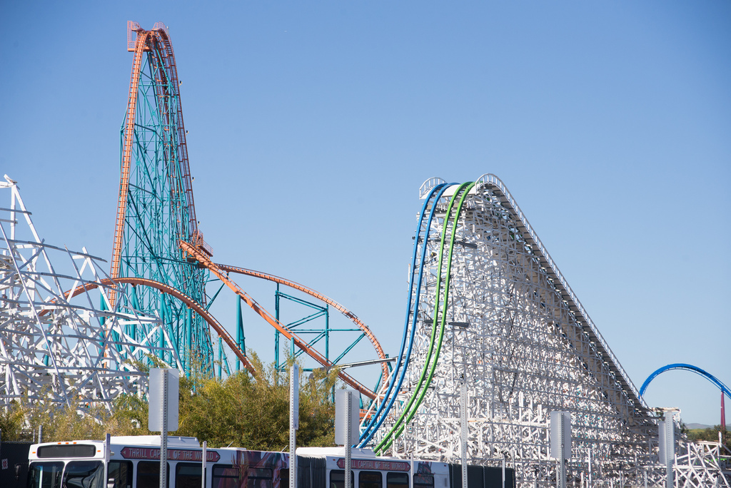 Twisted Colossus, Six Flags Magic Mountain, CA