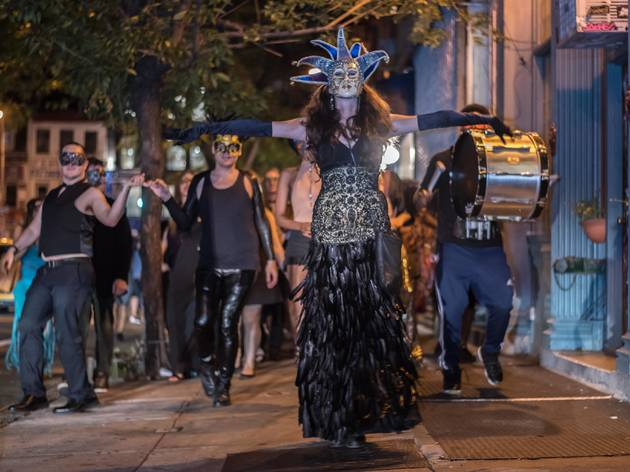 Masquerade on the Town