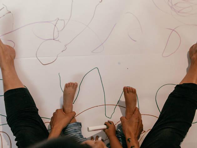 Taller de movimiento #ElCuerpoCorreHablaDibuja