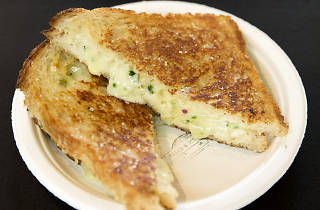 Maker and Monger's cheese toastie