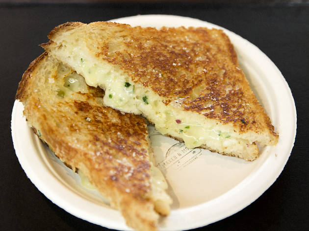 This Prahran Market stall is making fancy toasties this Sunday