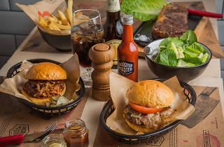 Quarter master burgers