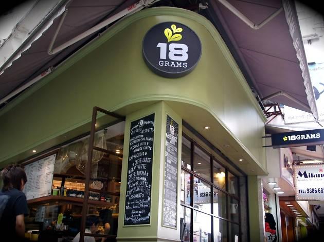 18 Grams Causeway Bay branch