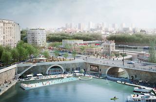 Le site du bassin de l'Arsenal, réalisé par REI Habitat © Weiss, Laisné-roussel - So Il