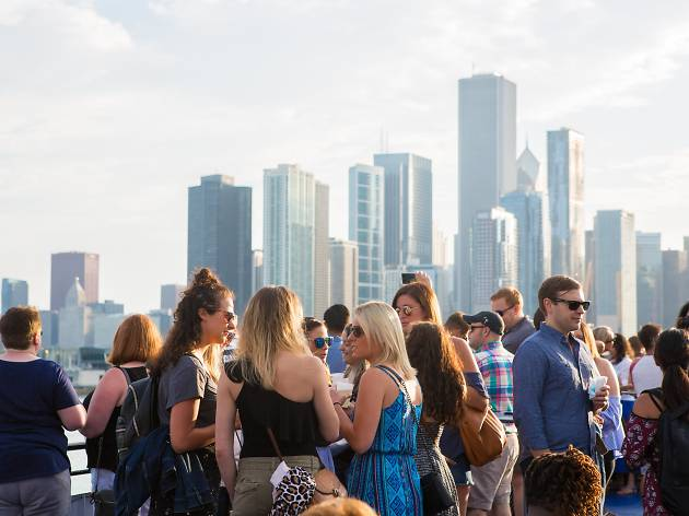 See photos from Time Out Chicago's July Sunset Sail Happy Hour