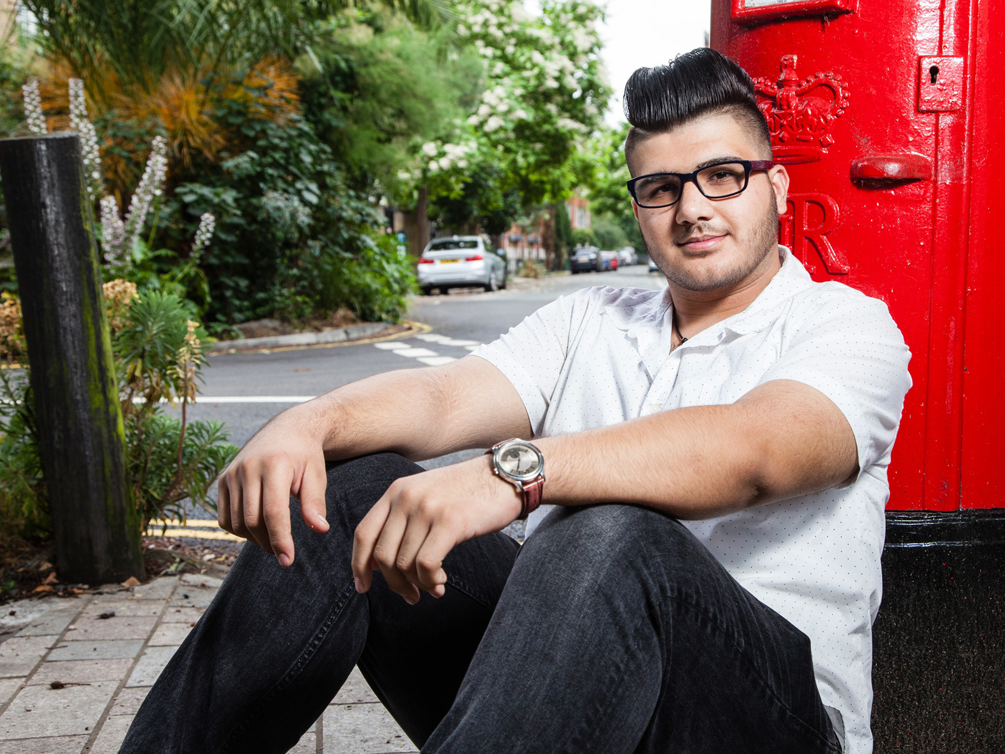 Meet an 18-year-old Syrian refugee who's building a new life in London