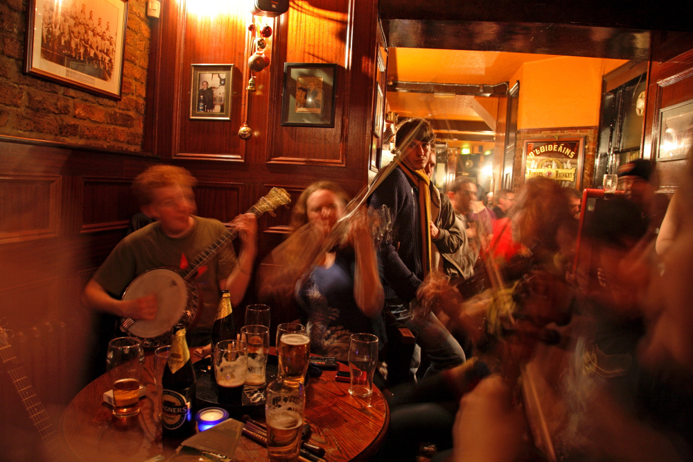 best bars and pubs in stoke newington auld shillelagh